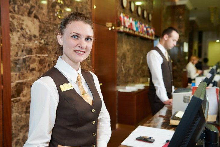 Get free quotes on Hotel Front Desk & Reception Uniforms today!