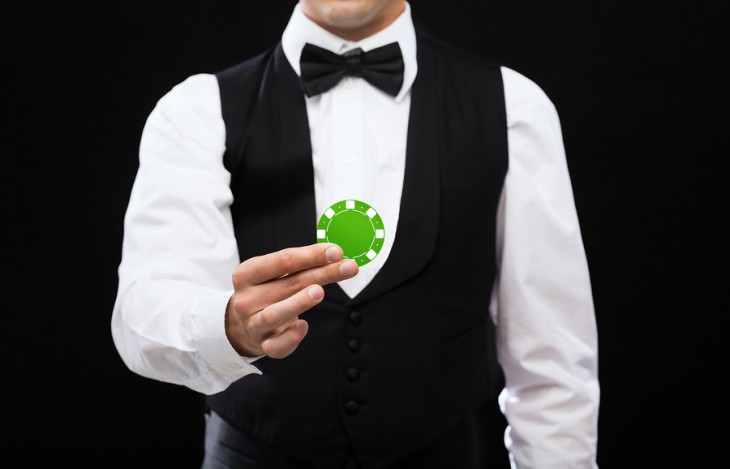 casino dealer uniforms