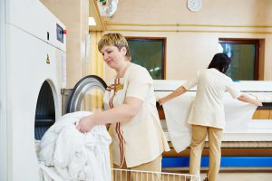 commercial linen cleaning laundry services outsourced linen rental