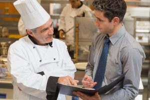 restaurant uniform balance employee safety appearance purpose
