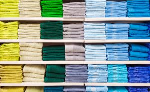 Different industries use different types of linens