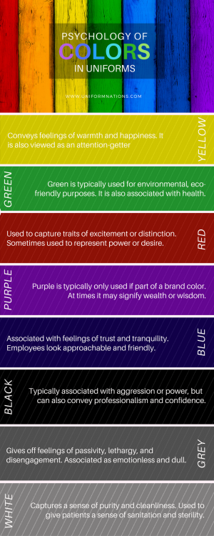 Psychology of Colors in Uniforms
