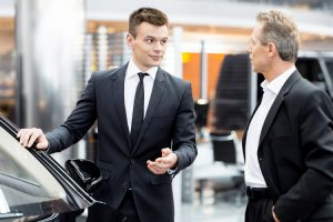 auto dealership sales uniforms leave subconscious impact